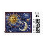Celestial Postage Stamp