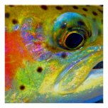 """Celestial Rainbow"" Poster"
