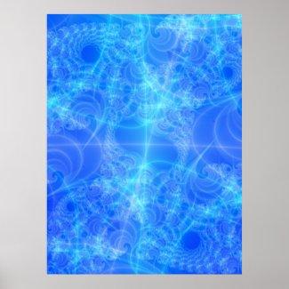 Celestial Raodmap Fractal print