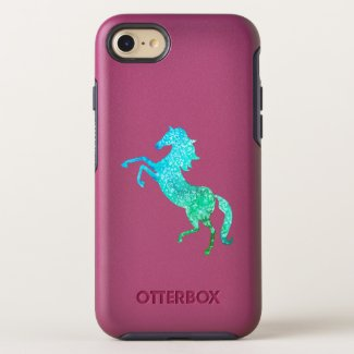 Celestial rearing horse OtterBox symmetry iPhone 8/7 case