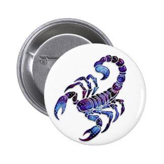 Celestial Scorpion Pinback Button