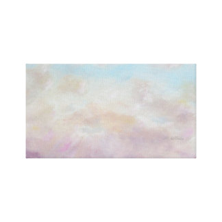Celestial Sky/Clouds with AH Stretched Canvas Print