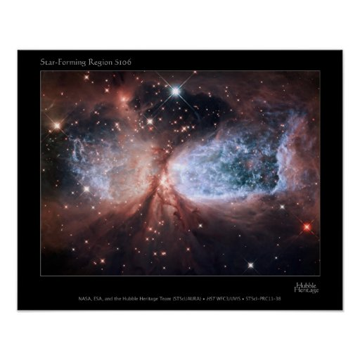Celestial Snow Angel Posters