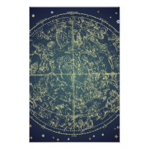 Celestial Space Chart