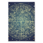 Celestial Space Chart Photo Print