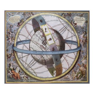 Celestial Sphere, Andreas Cellarius Posters