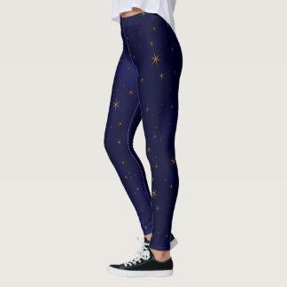 Celestial Starry Night Leggings