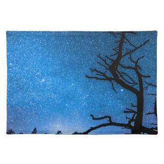 Celestial Stellar Universe Cloth Placemat
