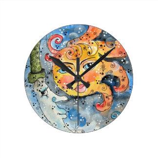 Celestial Sun and Moon Clock