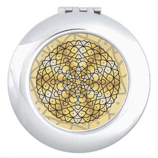 Celestial Sun Compact Mirror