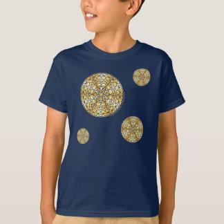 Celestial Sun Kid's and Baby Dark Shirt