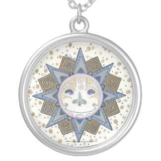 Celestial Sun - Round Necklace