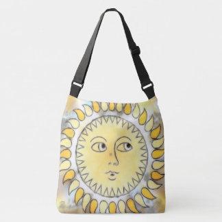 Celestial Sunburst Crossbody Bag