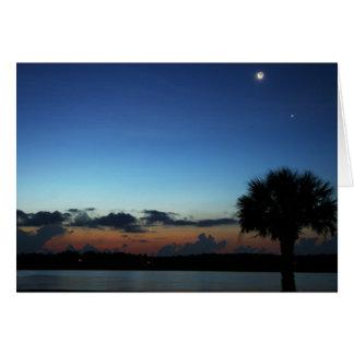 Celestial Sunrise Stationery Note Card
