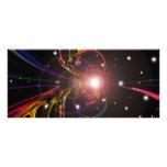 Celestial - tarjeta del estante lonas personalizadas