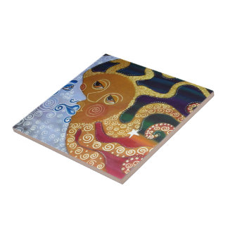 Celestial Small Square Tile