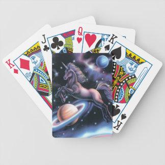 Celestial Unicorn playing cards