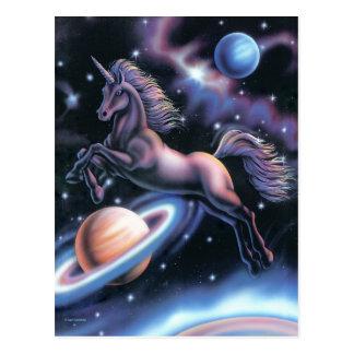 Celestial Unicorn Postcard