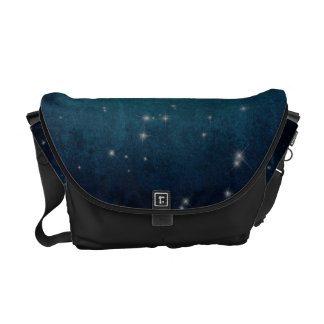 Celestial View Stars and Clouds Bag Tote Purse Messenger Bags