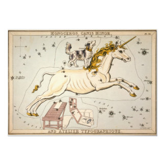 Celestial Vintage Map Card