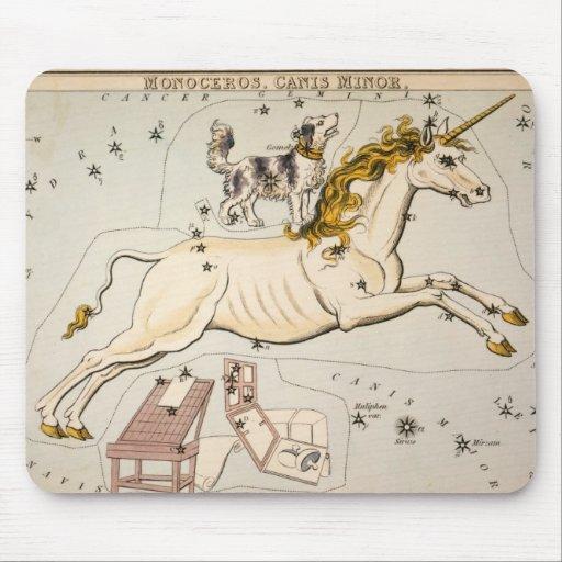 Celestial Vintage Map Mouse Pad