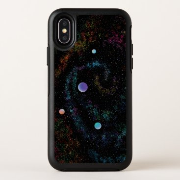 Celestial Vortex OtterBox Symmetry iPhone X Case