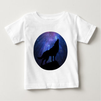 Celestial Wolf Baby T-Shirt