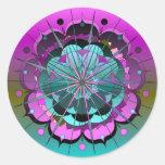 CelestialGlory2 Round Sticker