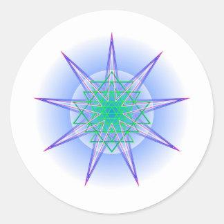 CelestialMight4 Classic Round Sticker