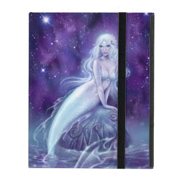 Celestina - Galaxy Mermaid iPad 2/3/4 Case