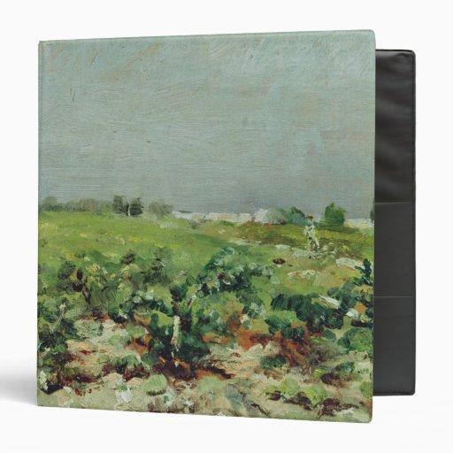 """Celeyran, vista del viñedo, 1880 carpeta 1 1/2"""""""