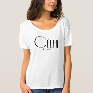Célfie Celebrity Style ADD YOUR TEXT T-Shirt