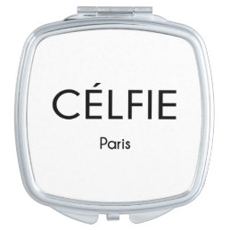 CELFIE Paris Compact Mirror