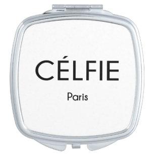 CELFIE Paris Compact Mirror