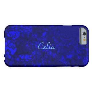 Celia modificó la caja azulada del iPhone para Funda Para iPhone 6 Barely There