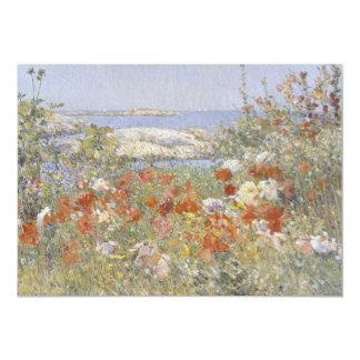 Celia Thaxter's Garden by Childe Hassam Card