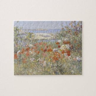 Celia Thaxter's Garden by Childe Hassam Jigsaw Puzzle