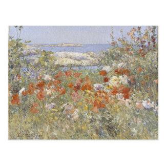 Celia Thaxter's Garden by Frederick Childe Hassam Postcard
