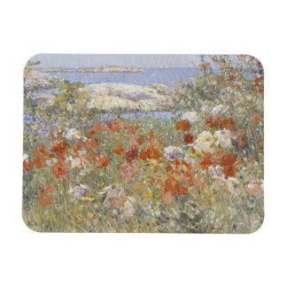 Celia Thaxter's Garden by Frederick Childe Hassam Rectangle Magnets