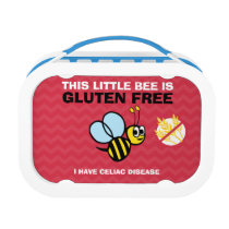 Celiac Alert Gluten Free Bumble Bee Lunch Box