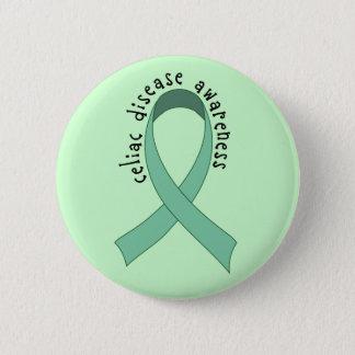 Celiac Awareness Ribbon Button