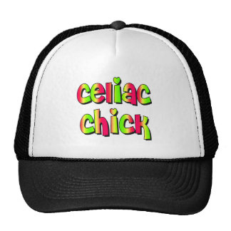 Celiac Chick Trucker Hat