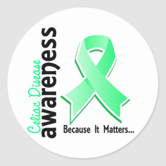 Celiac Disease Awareness 5 Classic Round Sticker