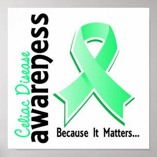 Celiac Disease Awareness 5 Posters
