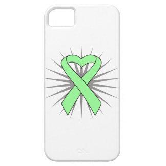 Celiac Disease Awareness Heart Ribbon iPhone 5 Cases