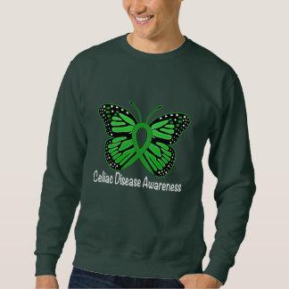 Celiac Disease Butterfly Awareness Ribbon Sweatshirt
