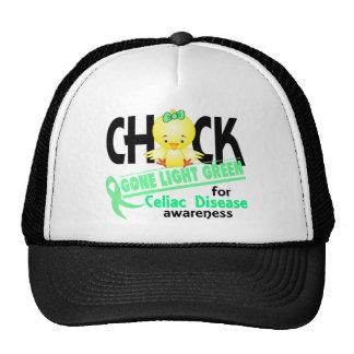 Celiac Disease Chick Gone Light Green 2 Trucker Hat