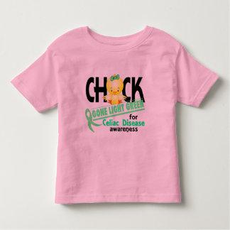Celiac Disease Chick Gone Light Green 2 Tee Shirts