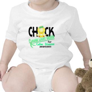 Celiac Disease Chick Gone Light Green 2 T-shirts