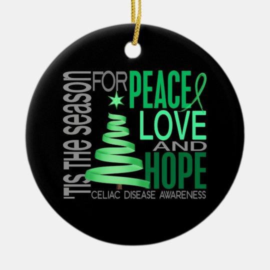 Celiac Disease Christmas 1 Ornaments